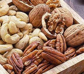 Les noix pour les petits creux